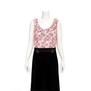 Louis Vuitton Floral Velvet Dress